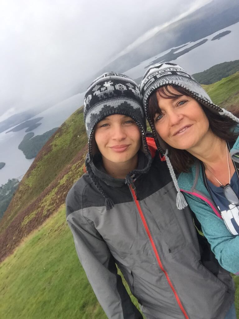 Fotospots in Schottland - Conic Hill am Loch Lomond