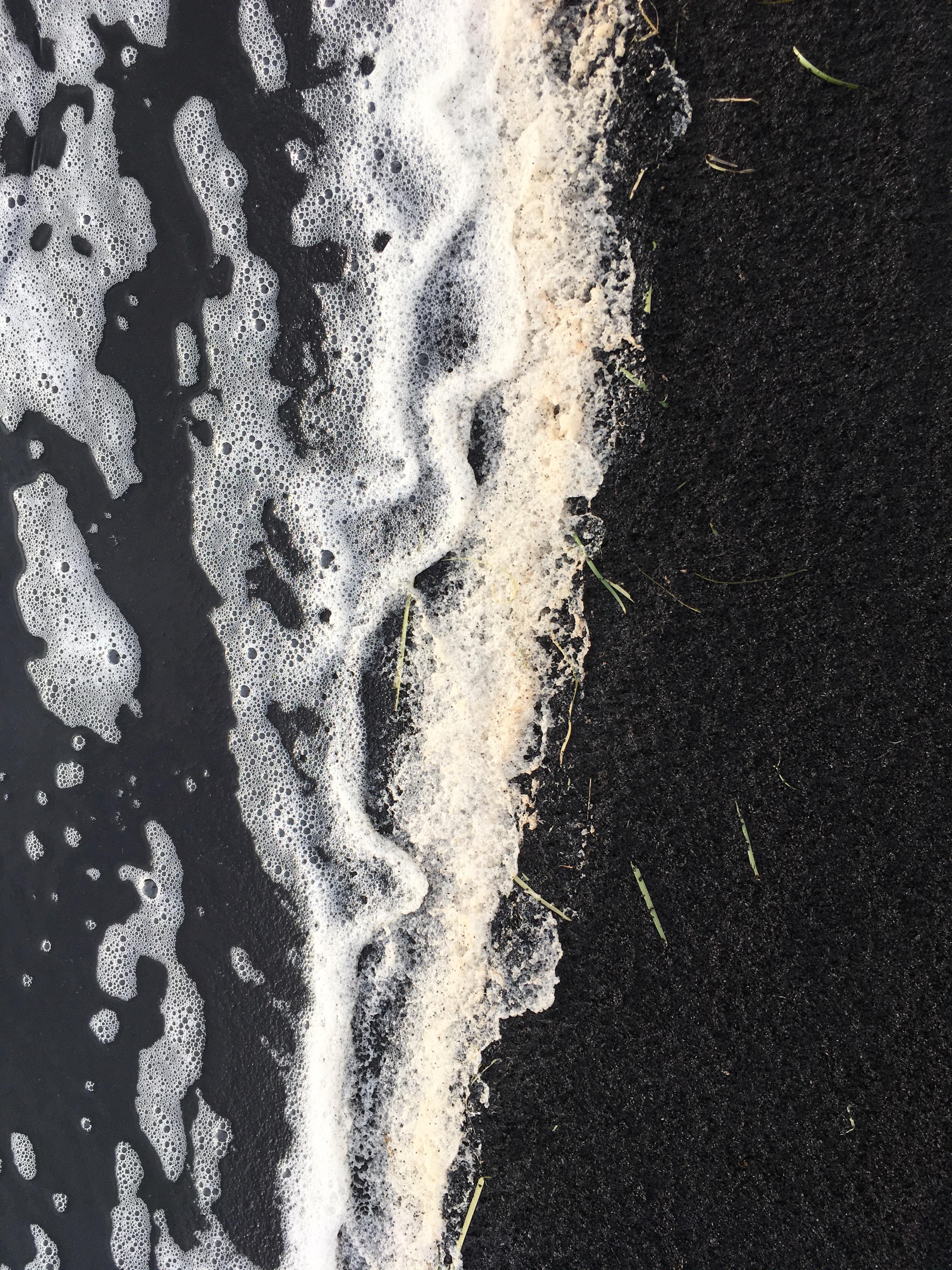 Fotospots in Schottland - Schwarzer Sand auf der Isle of Lewis
