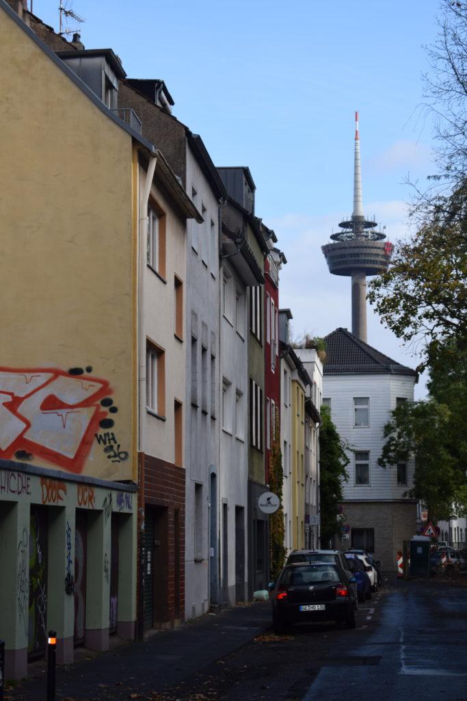 Insidertipps in Köln - Streetart in Köln Ehrenfeld, Colonius
